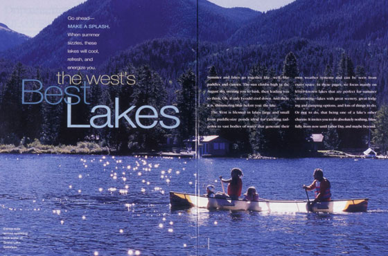 West's Best Lakes