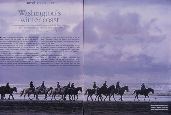Washington's winter coast